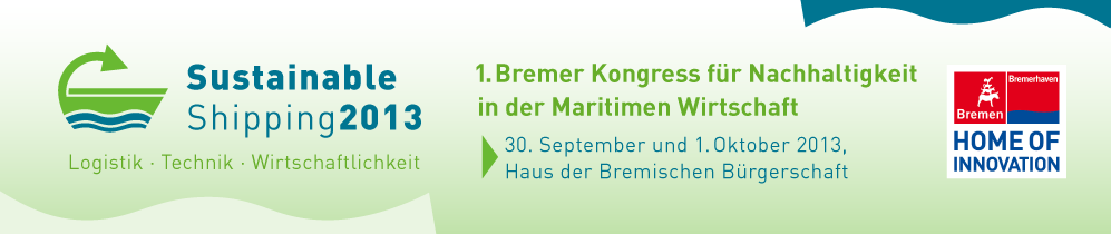Sustainable Shipping 2013 in Bremen